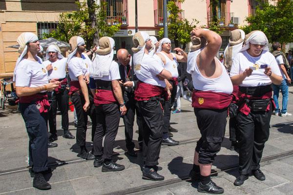 Semana Sante procession in Sevilla
