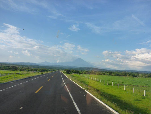 Auf dem Weg zum Nationalpark Popocatepetl