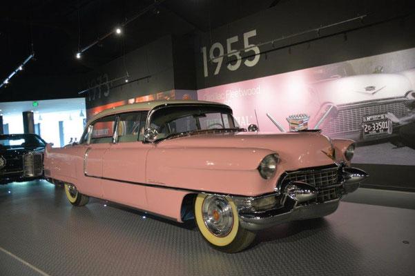 Elvis war Auto verrückt