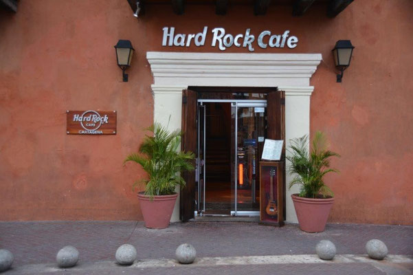 Das Hard Rock Cafe gibt es überall