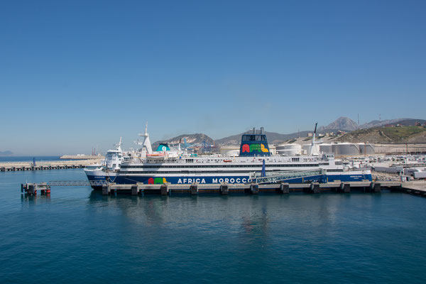 Fähre nach Algeciras