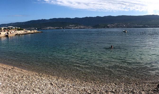In Kroatien auf der Insel Krk