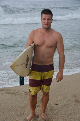 Surf Boy with Surf Body