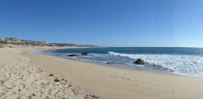 Endlose Sandstrände an der Südküste