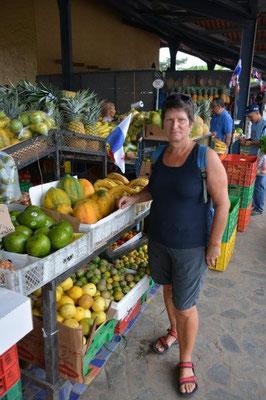 auf dem Markt in El Valle