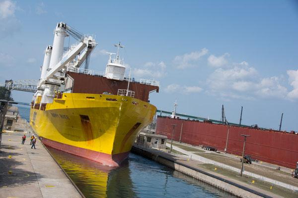 Schiffsschleuse in Sault Saint Marie