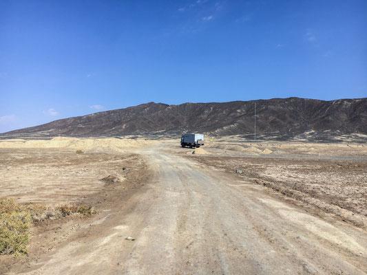 Auf dem Weg nach Varzaneh