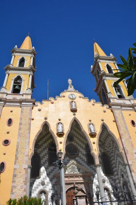 Cathedral in Mazatlan