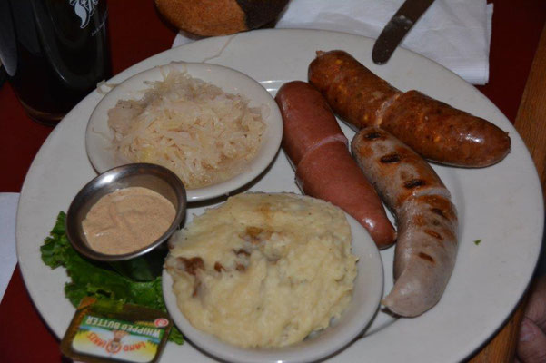 Hillcountry - all very much German influenced, even the food