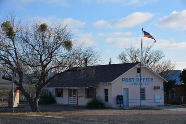 Old post office  in Langtry