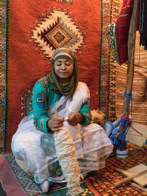 Beim Teppichverkäufer