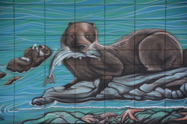 Wallpainting in Campbell River