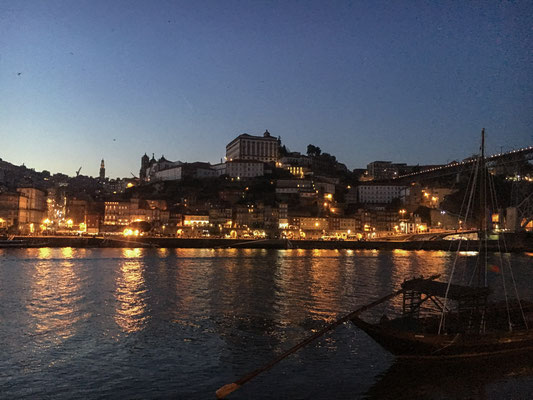 Porto by night