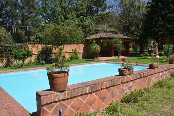 Patzcuaro - Hotel & RV Park mit Pool