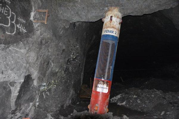 Rettungskapsel für die 33 chil. Bergleute aus dem Film LOS 33