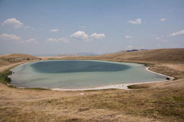 Kleiner See in der Nähe vom NP und unser Stellplatz für die Nacht
