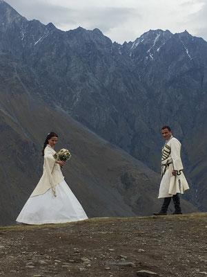 Georgisches Brautpaar