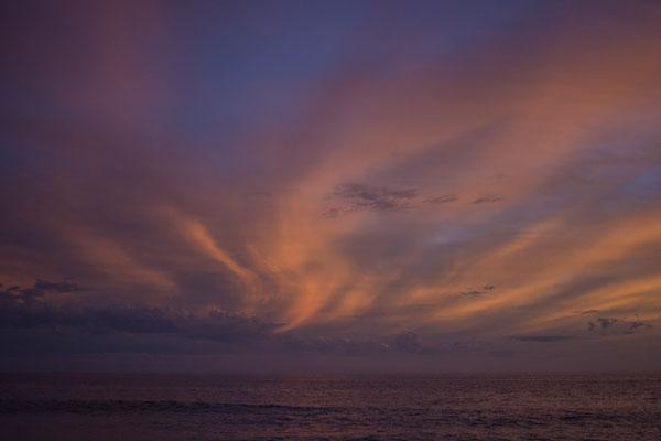 Tolle Sonnenuntergänge an der Pazifikküste