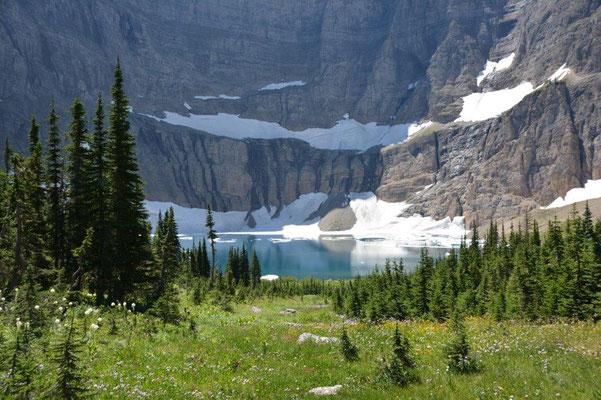 Iceberg Lake auf 1850m