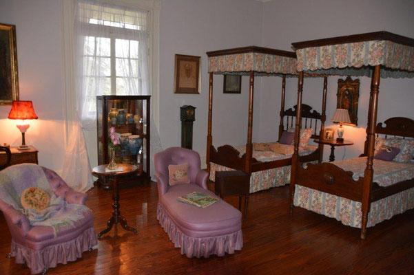 Oak Alley Plantage - Haupthaus Schlafzimmer