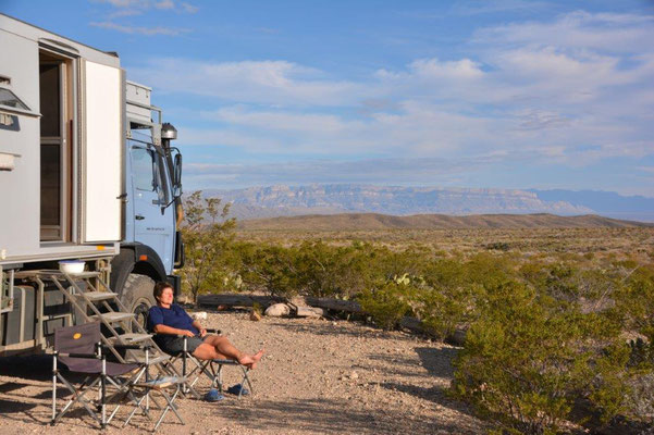 Big Bend National Park - Unser letzter Backcountry Campground