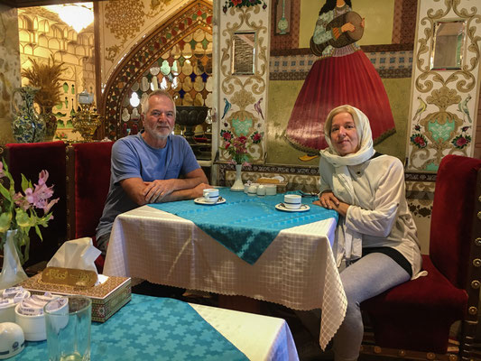 Unser Hotel in Isfahan