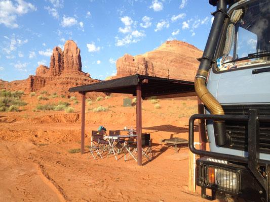 Monument Valley - unser Übernachtungsplatz