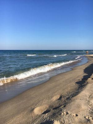 Sonnenstrand am Schwarzen Meer