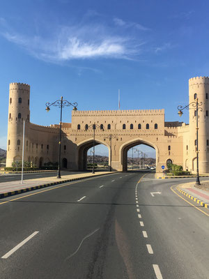 Stadttor in Nizwa