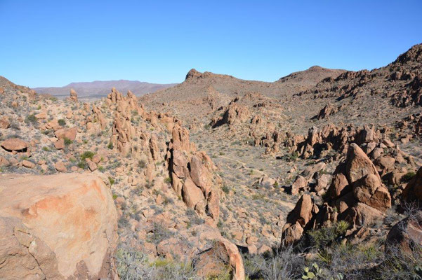 Big Bend National Park - Hike to Balanced Rock