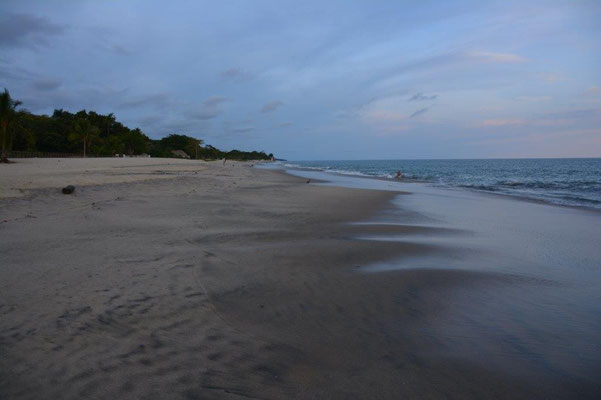 Am Strand von Las Lajas