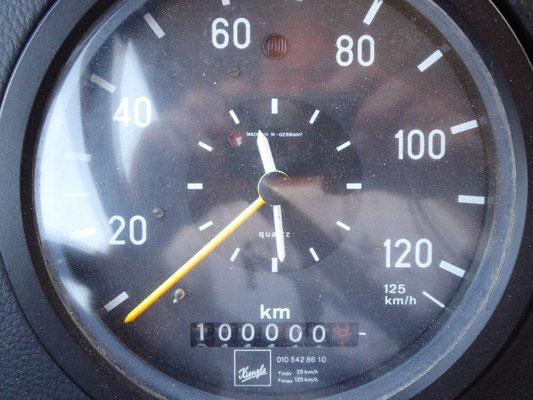 MOMO hat die 100.000km geschafft