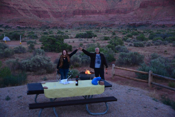 Hittle Bottom Campground close to Moab