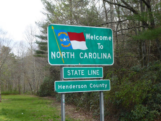 Willkommen in North-Carolina