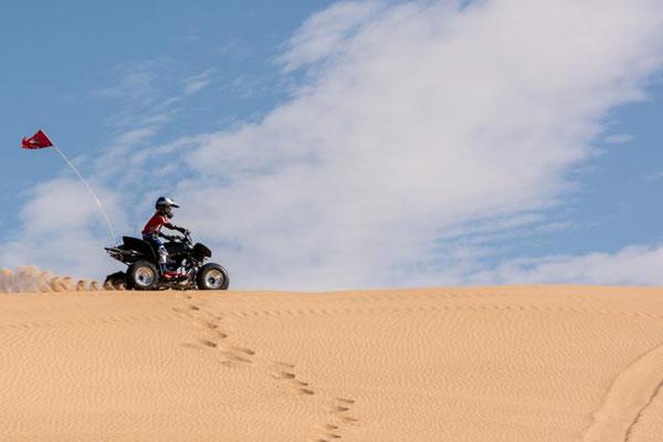 Offroad Spielzeuge in den Imperial Dunes