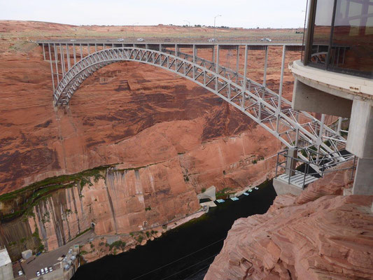 Glen Canyon Staudamm in Page