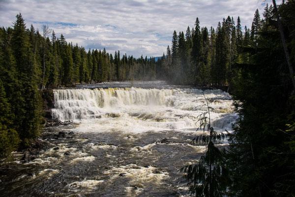 Wells Gray Park, Dawson falls