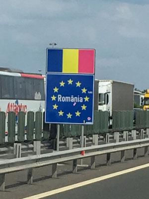 Willkommen in Rumänien