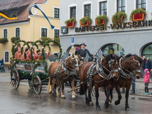 Bayrische Tradition, Leonardifahrt in Grafing