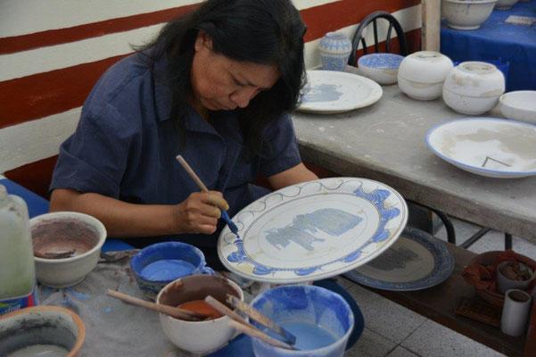Puebla - Traditions Töpferei Uriarte Talavera
