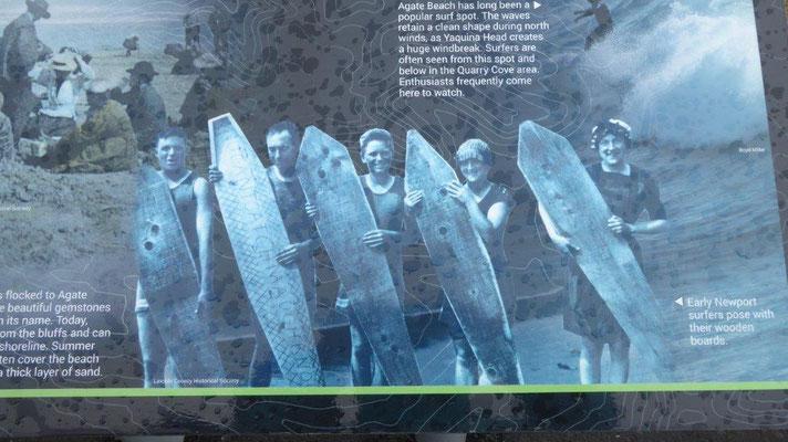 Surfen vor vielen JAhren