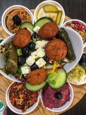 zur Abwechslung mal libanesisch Essen