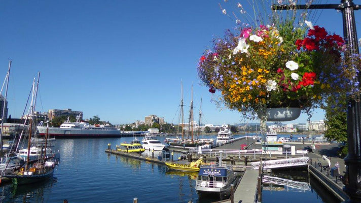 Sightseeing in Victoria