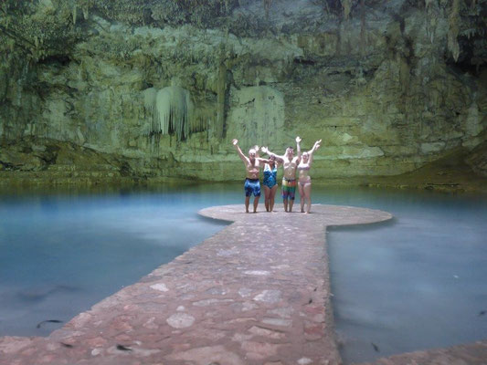 Eine Cenote für uns alleine