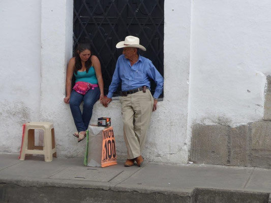 typischer Kolumbianer
