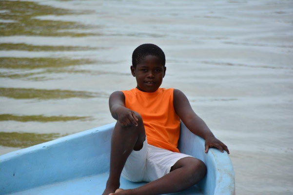 Boy in Dangriga