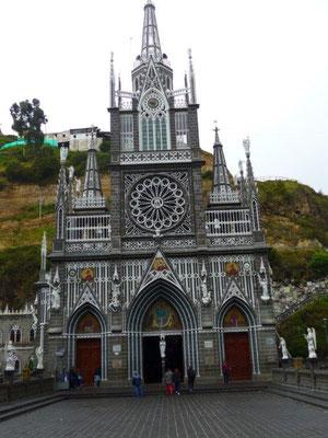 Die Kirche in Las Lajas