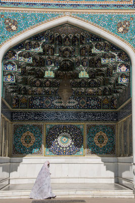 Mausoleum Shah Cheraq am Tag