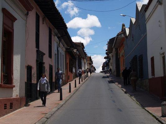 Bogota, Stadtteil Candelaria