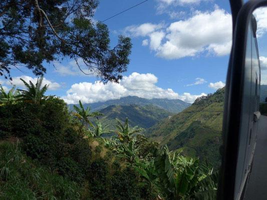 Traumhafte Landschaften in Kolumbien